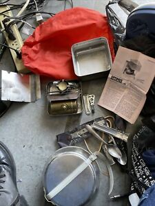OPTIMUS 99 BACKPACKING STOVE MADE IN SWEDEN GAS FUEL COMPLETE ORIG PAPERWORK