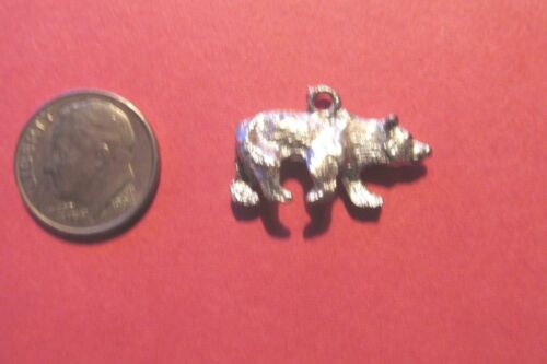 18  Pewter Bear  Charms