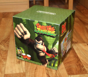 d917c7e4875 Donkey Kong Jungle Beat GameCube DK King of Swing GBA Display Box ...