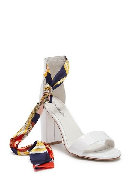 Jeffrey Campbell Lindsay Ankle Tie Sandal Size 7.5 M