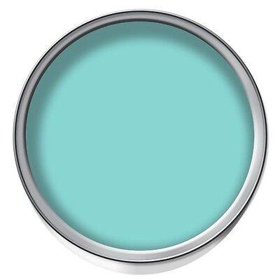 Dulux Marine Splash - Soft Sheen Emulsion Paint  2.5L Also Suitable for Bathroom