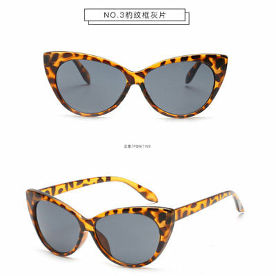 Retro Cat Eye Women Sexy Clear Lens Glasses Frame Luxury UV Protect Sunglasses