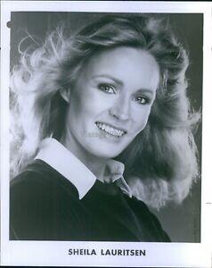 Vintage Actress Sheila Lauritsen Head Shot Played Nurses M ...
