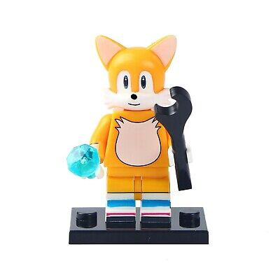 Tails Sonic The Hedgehog Lego Moc Minifigure Gift For Kids Ebay