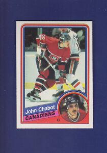 John-Chabot-RC-1984-85-O-PEE-CHEE-OPC-Hockey-258-MINT-Montreal-Canadiens