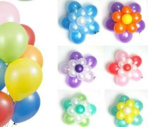 """5"""" Pouces Mini Jumbo Géant Plain Latex & macarons pastel Candy Ballons Arch Mur"""