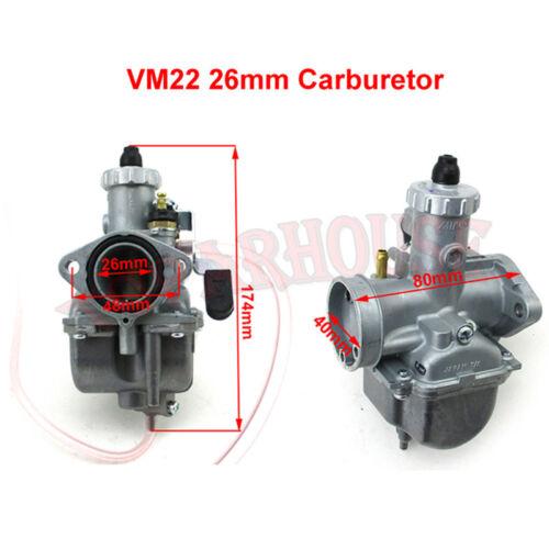Mikuni VM22-3847 Carburetor Kit For Predator 212cc GX200 196cc Mini Bike Go Kart