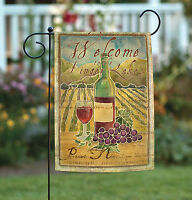 Toland - Pinot Noir Welcome To The Finger Lakes - Regional Wine Garden Flag