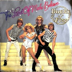 Bucks-Fizz-The-Land-Of-Make-Believe-Vinyl-7-034-45T-Single