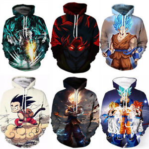 Men's Clothing Dependable Japan Anime Dragon Ball Z Hoodie Goku Women Men 3d Printed Sweatshirts Dragonball Z Super Saiyan Son Goku Costume Jacket