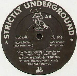 Undercover Movement Moonstompin 1991 Strictly