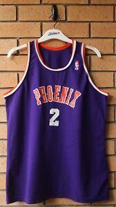 d3f76847 vintage phoenix suns #2 cohen sand knit nba jersey rare! size l/xl