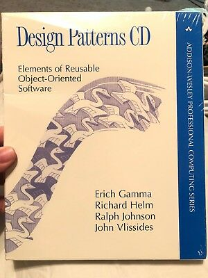 Design Patterns Cd Elements Of Reusable Object Oriented Software By Richard New 9780201634983 Ebay