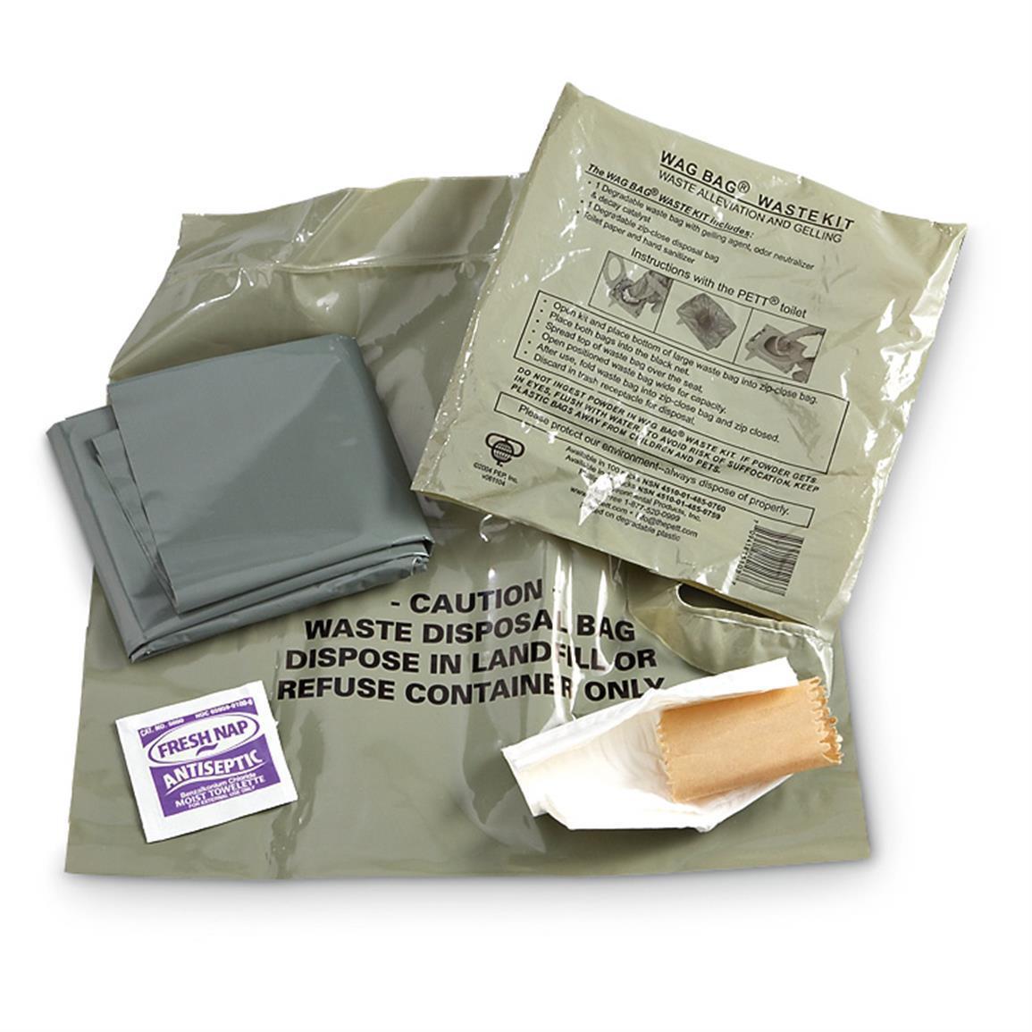 40 pcs WAG bags Discreet Solid Waste Disposal Environmental