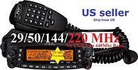 Tyt Th-9800 Plus 29/50/144/220 Mhz Quad Band Transceiver Mobile Radio Us Seller
