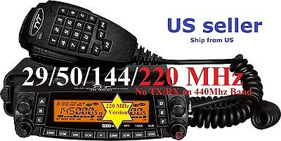 TYT TH-9800 PLUS 29/50/144/220 MHz QUAD BAND TRANSCEIVER Mobile Radio US Seller