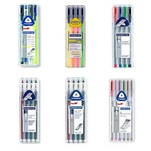 Image Is Loading Staedtler Triplus Fineliner Ball Point Pen Highlighter Mobile