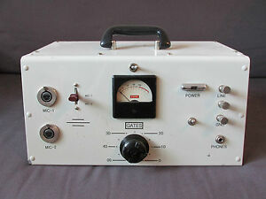 Vintage-rare-Gates-MO-3689-microphone-tube-preamplifier