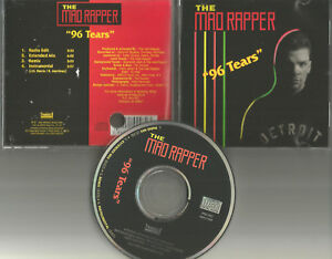 MAD-RAPPER-w-Question-Mark-amp-The-Mysterians-96-Tears-MIXES-amp-INSTRUMENTAL-CD