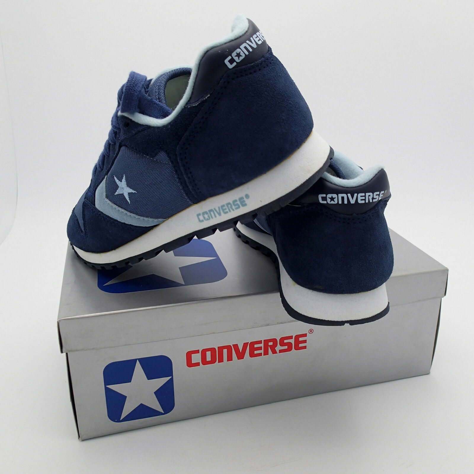 VTG 1980's New in in in Box Converse One Star Running shoes Suede Nylon SZ 6.5 Womens 7e0c80