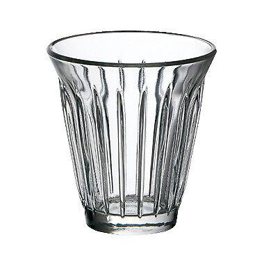 Zinc La Rochère Mug 19cl - glass cup - Set of 6