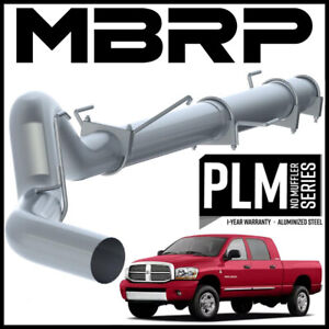 """MBRP PLM 5"""" Cat-Back Exhaust System Kit fit 2004-2007 Ram 2500 3500 Cummins 5.9L"""