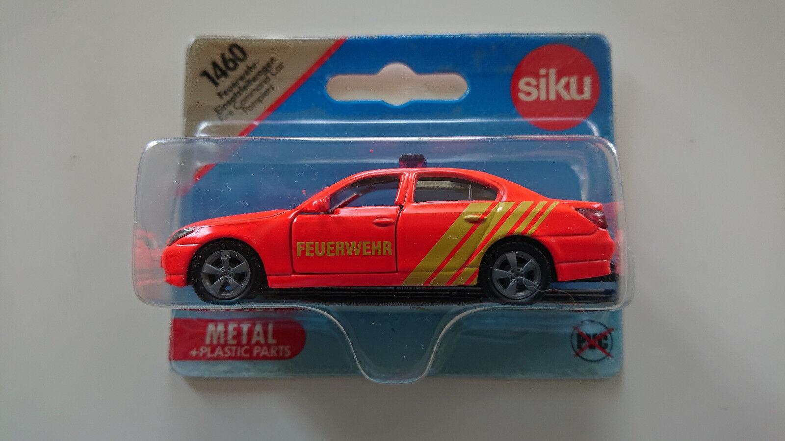 ventas directas de fábrica Siku 1460 1460 1460 bmw 545i bomberos OVP Mint muy raras  auténtico