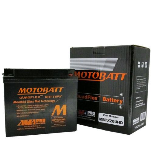 Triumph  1600 Thunderbird 2015 MBTX20UHD MotoBatt Premium Powersports Battery