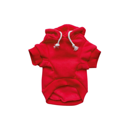 Red Dog Sweater RichPaw Red Dog Jumper Red Dog Hoodie Dog//Puppy Clothing