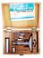 """3/"""" Base 0.001 Graduation Wood Box Premium Depth Micrometer 0-4/"""""""