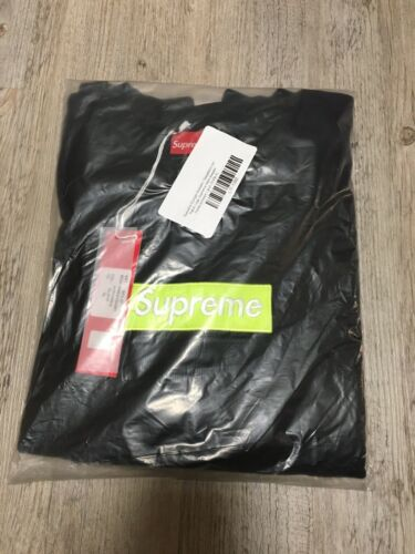 neu /& ovp S Boxlogo neongrün Supreme Italy Sweater Sweatshirt Gr
