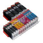 16+PACK CLI-251XL Ink Tank for Canon Printer PIXMA MG5520 MG7120 iP7220 CLI251XL