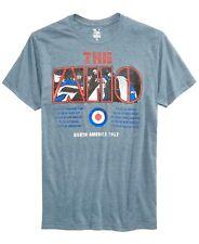 The Who North America 1967 Graphic T-shirt Navy Heather Mens Medium