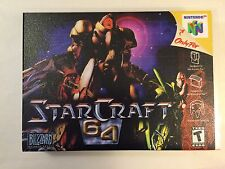 Starcraft 64 - Nintendo 64 - Replacement Case - No Game