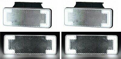 4X Côté Marqueur LED 12V Feux Châssis Bus Remorque Camion pour Scania DAF Man