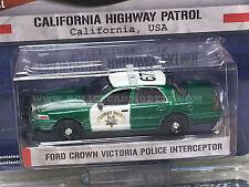 Greenlight 1/64 GREEN MACHINE CHP California Highway Patrol Crown Vic Police Car