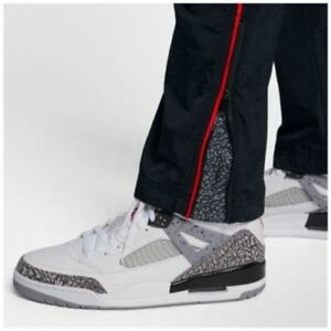 adf97fd0689493 NWT Jordan Sportswear AJ 3 Woven Vault Pants Black Red Cement 3XL ...