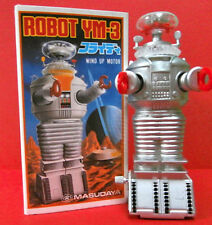 MASUDAYA ROBOT YM-3 WIND UP LOST IN SPACE 4 & 1/2 inches tall FORBIDDEN PLANET
