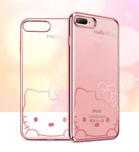 Cartoon-Hello-Kitty-Doraemon-TPU-Rubber-Case-Cover-For-iPhone-8-7-6-6S-Plus-5-SE