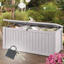 Gartentruhe Jumbo XXL Gartenbox Kissenbox Auflagenbox Kissentruhe Box Truhe