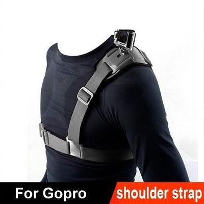Shoulder Chest Strap Mount Harness Belt Accessory For GoPro Hero 3+ 4 Session EP
