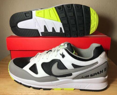 Ii ah8047 Black Nike Grey 101 para hombre Air de Span Volt Zapatillas Dust entrenamiento Sz White 00wETU6x