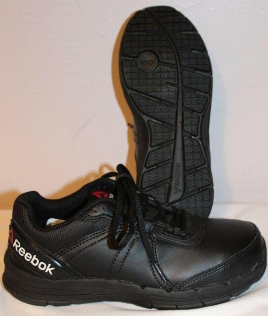 Reebok RB351 Guide Work Womens Black SD SR Steel Toe Performance Shoes NEW 6.5M