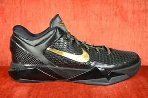 info for 7fcab 0a2ae Image is loading NEW-Nike-Zoom-Kobe-7-System-Elite-Black-