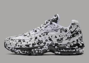 Details about Nike Air Max 95 C.E. CAV EMPT DIGI CAMO WHITE BLACK AV0765 100 sz 12 Men Running