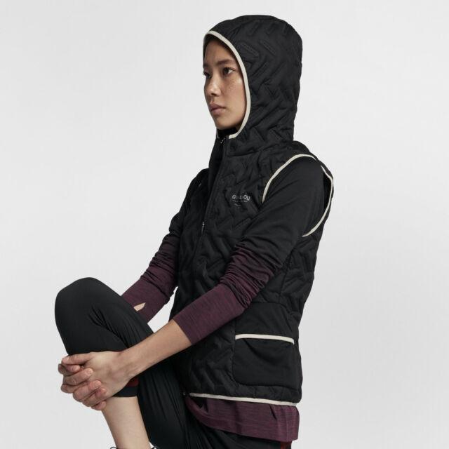 e1a8c65d317c Nike X Undercover Gyakusou Aeroloft 800 Women s Running Gilet Vest Black  New M