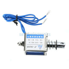 12v 2a Reset 10mm 20n Push Pull Type Open Frame Solenoid Electromagnet Jf 0826b