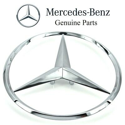 Mercedes-Benz W166 GLE ML-Class Genuine Chrome Trunk Emblem Star NEW 1668170016