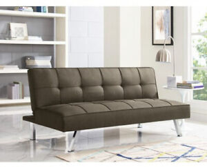 Peachy Details About Modern Futon Sofa Bed Couch Sleeper Lounger Convertible Tufted Loveseat Recliner Creativecarmelina Interior Chair Design Creativecarmelinacom
