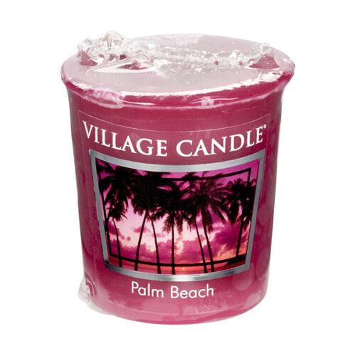 Village Candle Celebration Rain Beach Creamy Vanilla Cherry 2oz Votive Candle